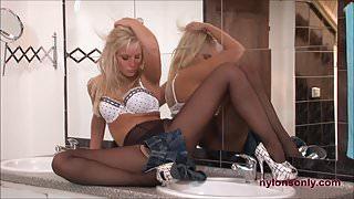 Beautiful Blonde Marry Queen in Double Trouble