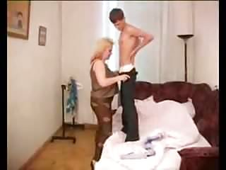 Mom and son vid sex Mom and son couch sex