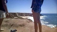 Shorts com uma lacuna