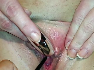 Fucking the urethra My wife takes it up the urethra