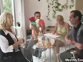 Mature and young sex long tubes - Young chick rides his daddys long dong
