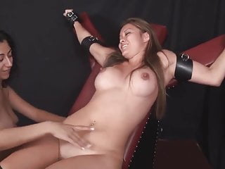 Tied and tickled tits Tickling tied aisian