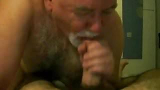 Daddy bear blowjob.flv