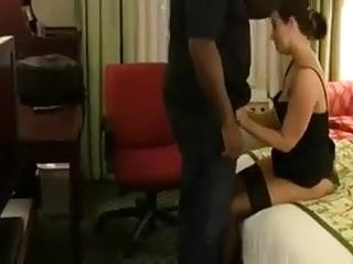 Interracial milf porn Hot tight pussy wife try bbc cuckold