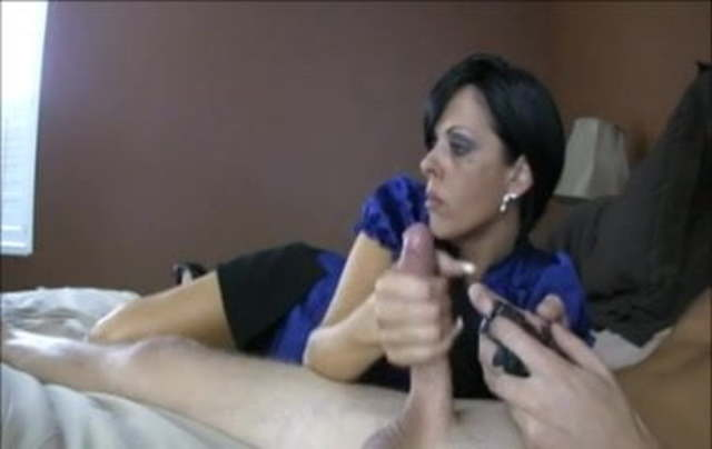 Oral Creampie While Playing