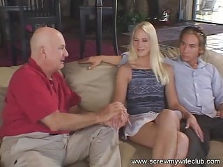 Had a beautiful cunt Beautiful blonde wife screwed and had a facial