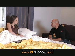Vintage and fashion - Orgasms - a fashion model makes love