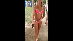 Oc скрытой камерой - пляжный фестиваль блондиночки