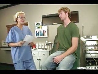 What causes a ruptured vagina Sexy doctor causes a huge cumshot
