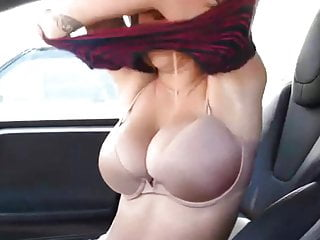 Sexy junior bras - Sexy young slut sharon changing her bra in my car