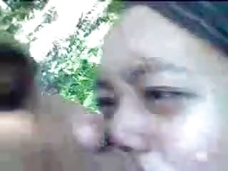 Tranny fucking till cum Indonesian couple fuck outside till cum on pussy