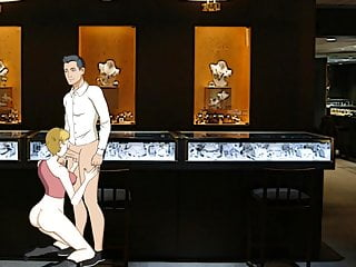 Hentai girl doggystyle - Quick fuck in a shop - doggystyle - cartoon porn