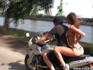 Hot teen biker babe video Crazy biker girl