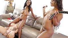 Jezabel Vessir & Skyler Nicole Punish Cali Carter