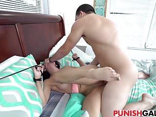 Malina porn Bound malina mars gets drilled