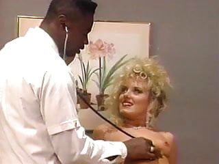 Sexy blonde milf taking it - Horny doctor takes a close look at sexy blonde patient
