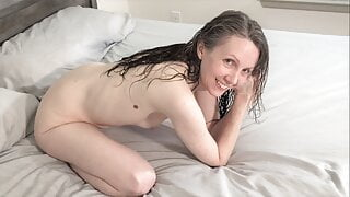 Body Convulsions After BBC Cum Swallow