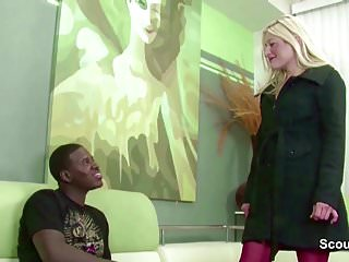 Free blacks on blonde monster cock - 13 inch black monster cock fuck blond german teen in asshole