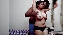 Telugu busty aunty Fucking with Milkman – Affair