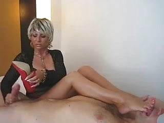Smothered by pussy Facesitting milf smothers him