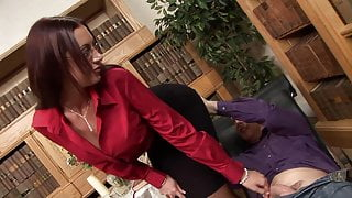 Big boobs MILF psychologist takes the big cock of Patient