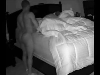 Swinger wife lover Lover fucking wife hubby lies next to them. best cuckold
