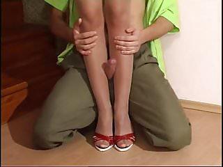Porn nylon legs Pantyhose ::