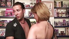 He sodomized his wife in a sex shop