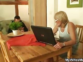 Mother-in-law paying sons debt porn He screws porn-loving mother in law