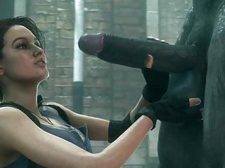 Resident evil 5 sheva fully nude 3d resident evil