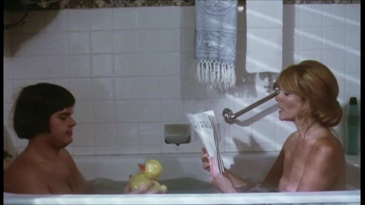 Mom, I want to take a bath with you! (vintage)