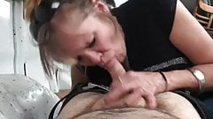 Blowjob with amateur granny from forsex.eu