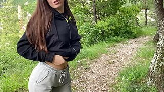 SLOPPY BLOWJOB WITH SPIT AND BIG FACIAL ON NIKE HOODIE