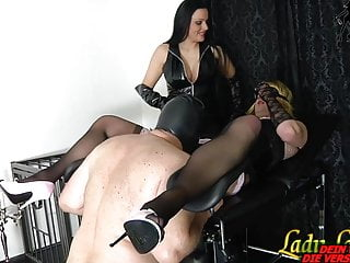 Big cock first time bi story - Slave must do blowjob for german fetish lady -first time bi
