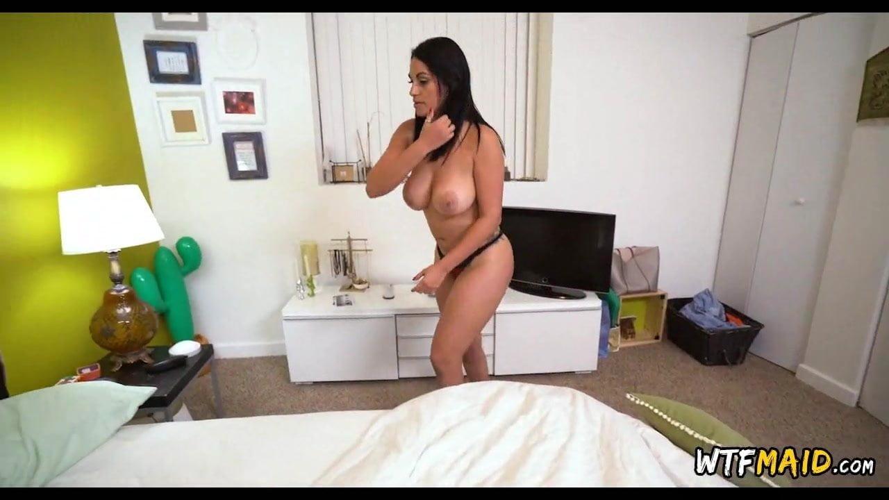 Dirty Blonde Latina Maid