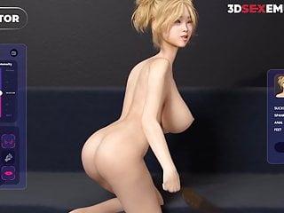 Realistic cock dildo 9 Hardcore deepthroat - realistic 3d animation