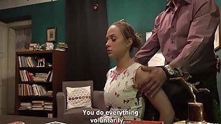 Fucking Stepmother and Wife Really Hard In the OFFICE