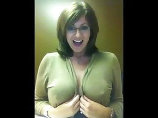 Sexy glasses Sexy glasses milf flash boobs