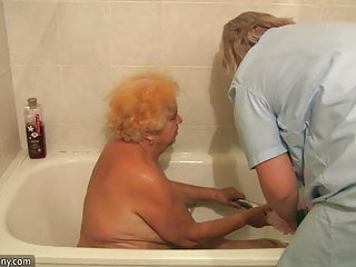 Nice guys porn - Old granny, chubby granny, nice granny with young guy