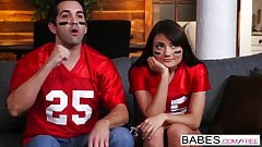 Babes - Snack Attack  starring  Lucas Frost and Adria Rae cl