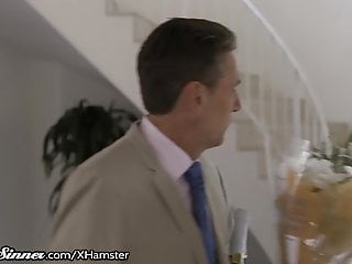 Older gay dads - Sweetsinner kenna james tricks older man into fucking her