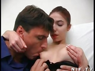 Rennaisance slut - Young french redhead slut gets analized