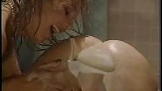 Two Hot Lesbians Playing with Dildo and Squirting !!