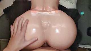 Fuck Me Silly Bubble Butt Oiled AF