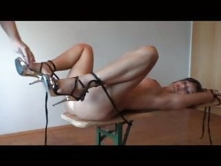 German girls in bondage thumbnails German bondage girl