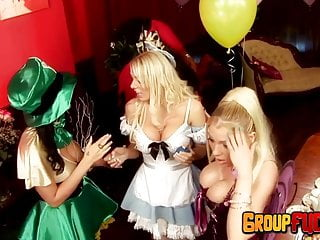 Porn alice in wonderland Big tits alice in group sex wonderland