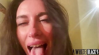 extreme squirt from a beautiful slut