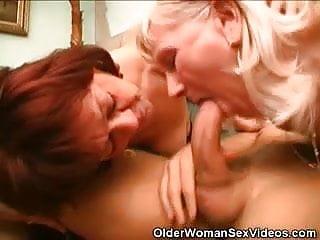 Mature older woman sex videos Blowjob grannies