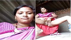 Today Exclusive- Horny Desi Wife Record Her W...
