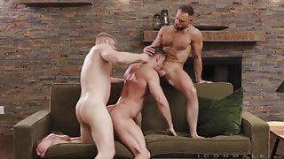 Uncles 3 way  Logan Stevens & Skyy Knox, Zayne Roman